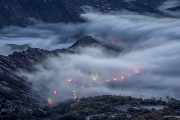 La niebla y el pueblo