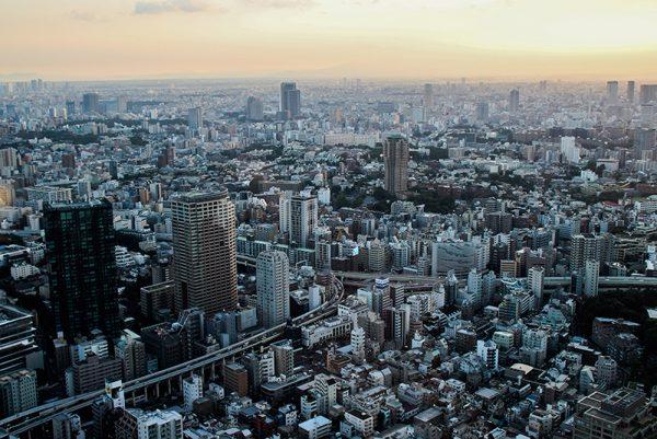 Tokyo desde las alturas