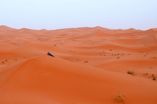 El descanso del bereber